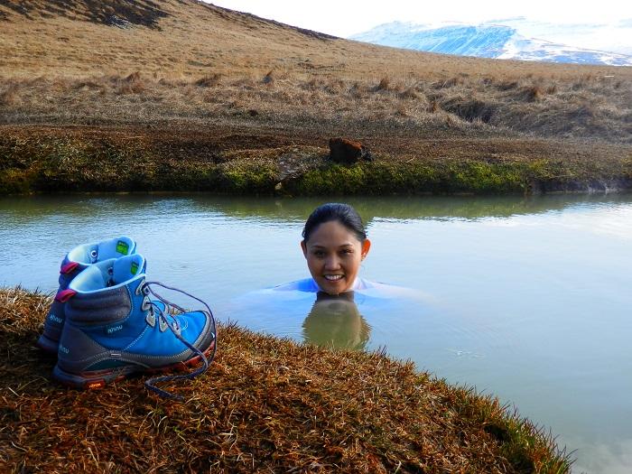 Hotsprings on Snaefellsness Peninsula (Iceland)