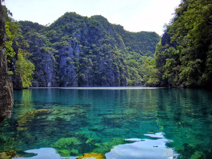 Kayangan Lake in Coron, Palawan (Philippines)