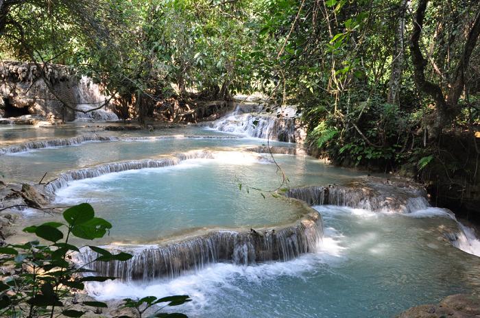 Kuang Si Falls, Luang Prabang (Laos)