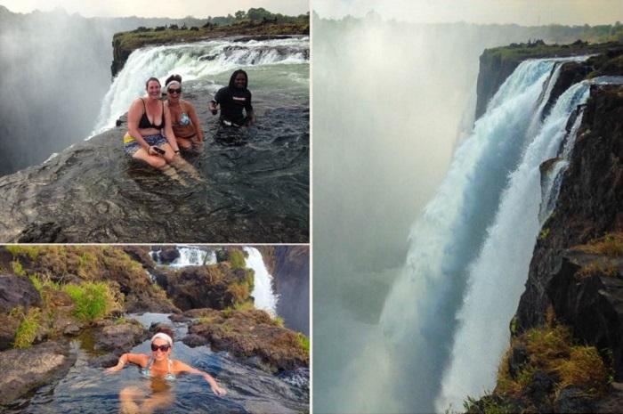 The Devil's Pool, the Zambian side of Victoria Falls (Zambia)