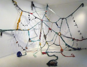 Consumption Web for Monaco (self-proclaiming material snare) 2011