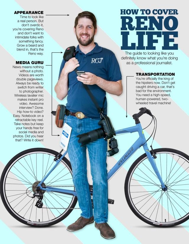 Mike Higdon, Reno Gazette Journal