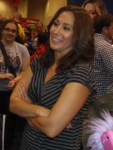 Emily Andras at Fan Expo 2013