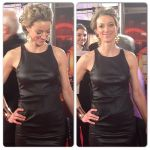 Zoie Palmer at the Canadian Screen Awards 2014 (Source: Hello! Canada)
