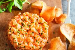 Flagrant Salmon Patties Breakfast What Goes Good A Good Try This Salmon Tartare Star What Goes Good Salmon Cakes This Recipe Goes A Green Toasted Bread Or Homemade Fishing