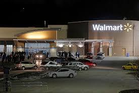 walmart store shot outside