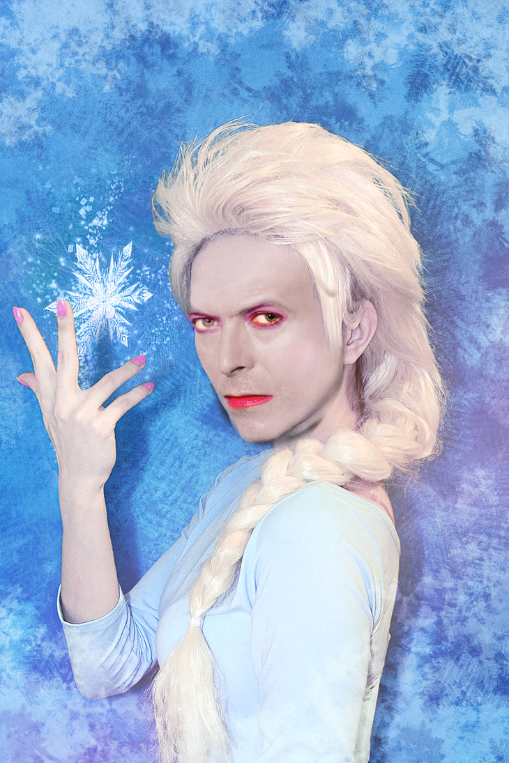 Exclusive Frozen Era Bowie photograph found
