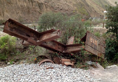 Zeugen vergangener Eisenbahntradition in Ecuador. Bild: SWR/Peter Sonnenberg