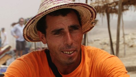 Kleinbauer Mohamed El Mektiri wird wegen seiner außergewöhnlichen körperlichen Kräfte Hercule genannt. Bild: ARTE France