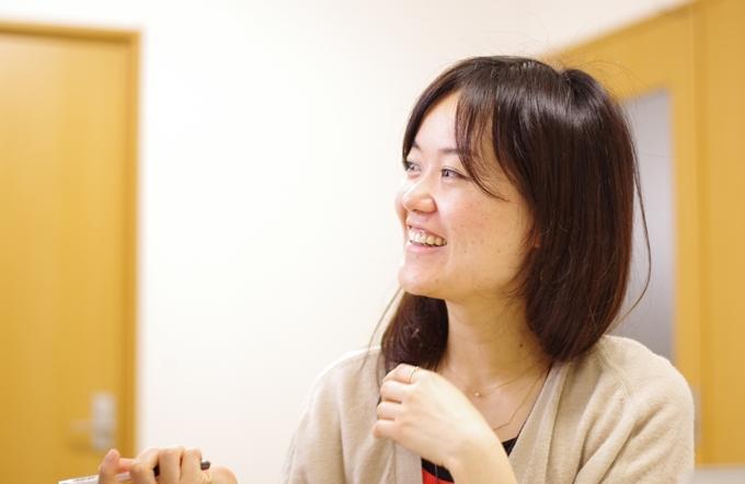 石巻に来て1年になる、土屋香奈子さん