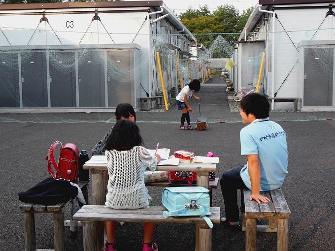 NPO法人コースターの福島での活動風景