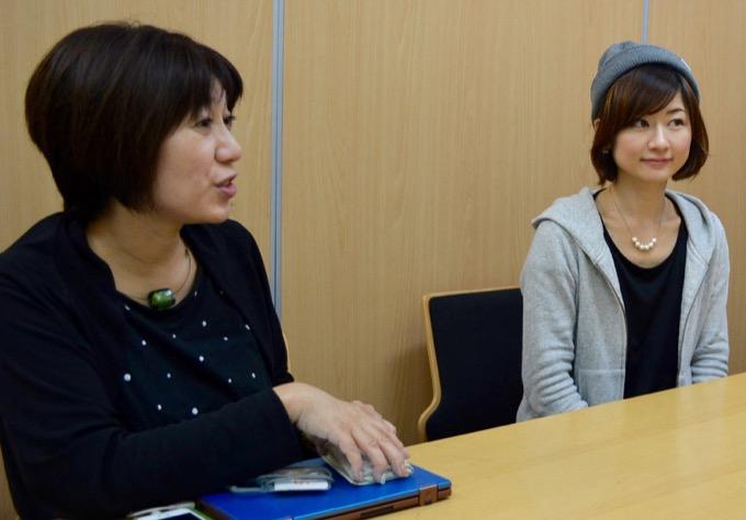 モーハウス代表・光畑由佳さん、「LALAガーデンつくば」モーハウス店長・續薫さん
