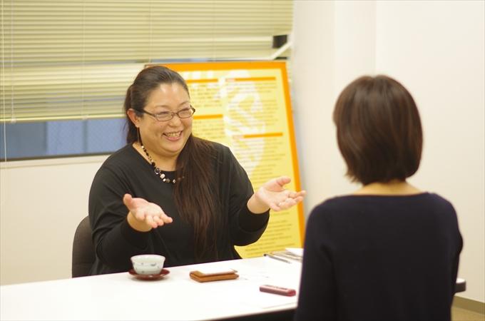高木美代子さんインタビューの様子