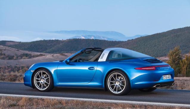2015 Porsche 911 Targa