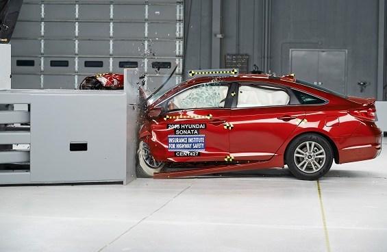 2015 Hyundai Sonata Crash Test