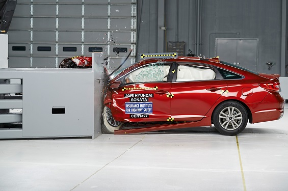 2015 Hyundai Sonata Crash Test