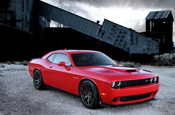 Dodge's first Challenger SRT Hellcat will be auctioned off for charity