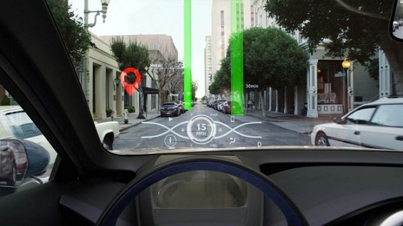 Toyota is developing a revolutionary new 3D heads-up display