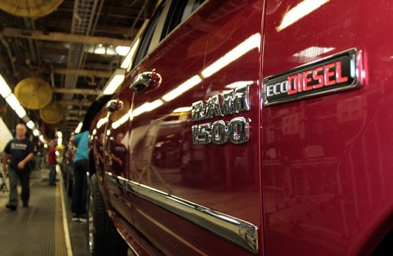 Chrysler is ramping up production of the 2015 Ram 1500 EcoDiesel