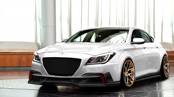 Hyundai is showing off a 550 hp Genesis sedan at SEMA