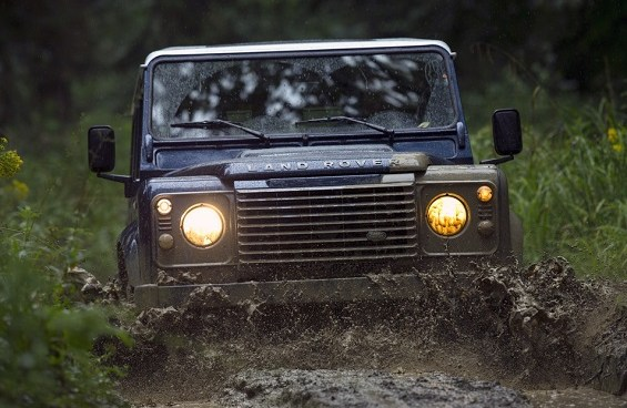 Land Rover's SVO division is developing extreme off-roading models