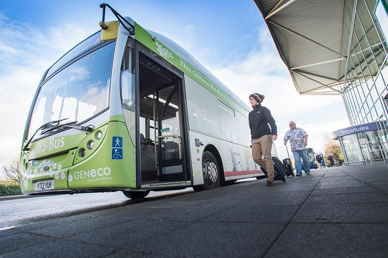 First poop-powered bus launches in the UK