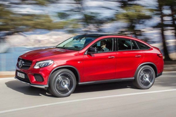 Mercedes-Benz releases details on the GLE 450 AMG Sport coupe