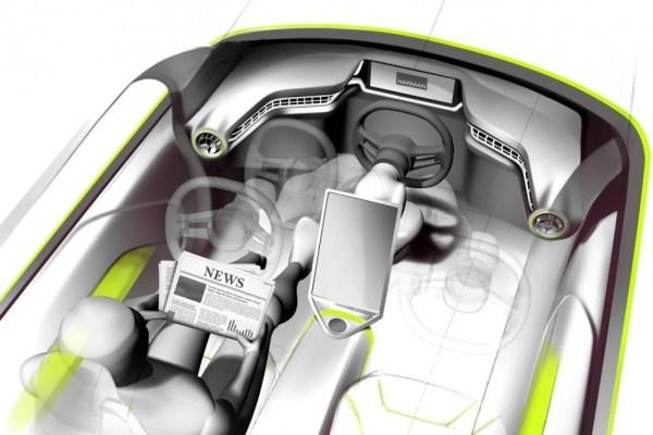 Rinspeed previews its autonomous concept car