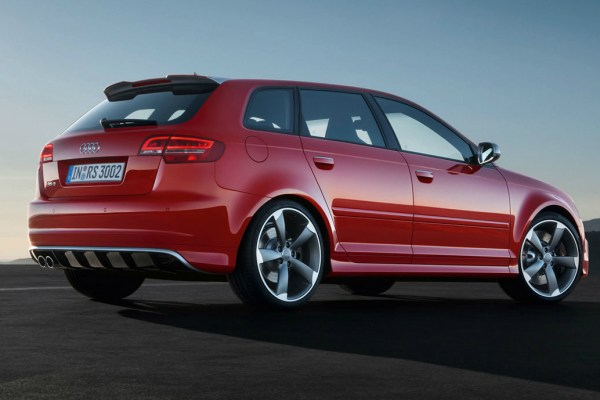The covers come off of the 2015 Audi RS3 Sportback