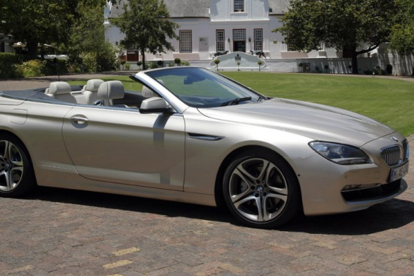 2015 BMW 6 Series Convertible Silver