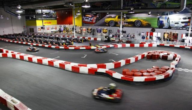 11.28.16 - Indoor Go-Karts