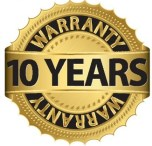 ten year guarantee on block drives