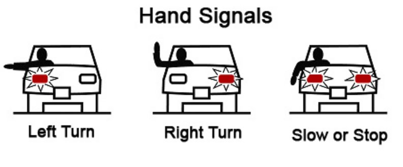 Hand Signals for Driving