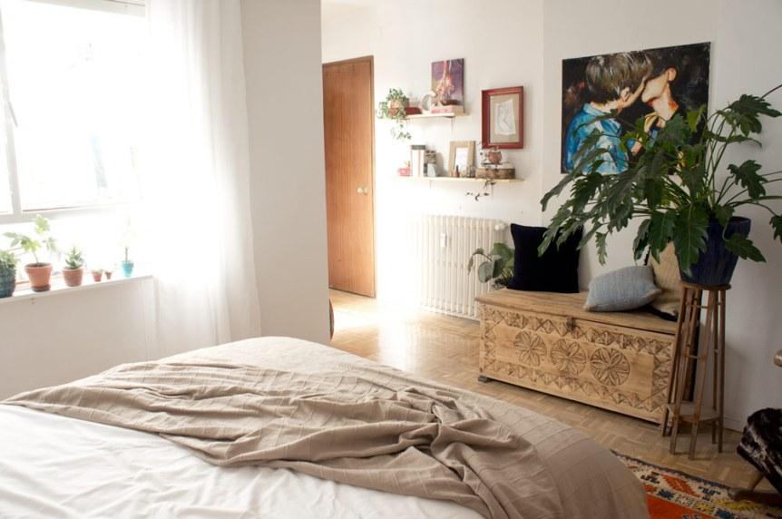Nuestra habitación (casi 100%) DIY · Our (almost 100%) DIY bedroom   Blog DIY decoración