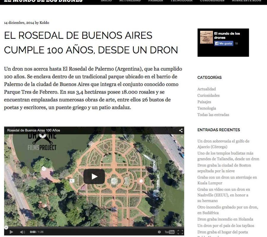 Mundo de los drones