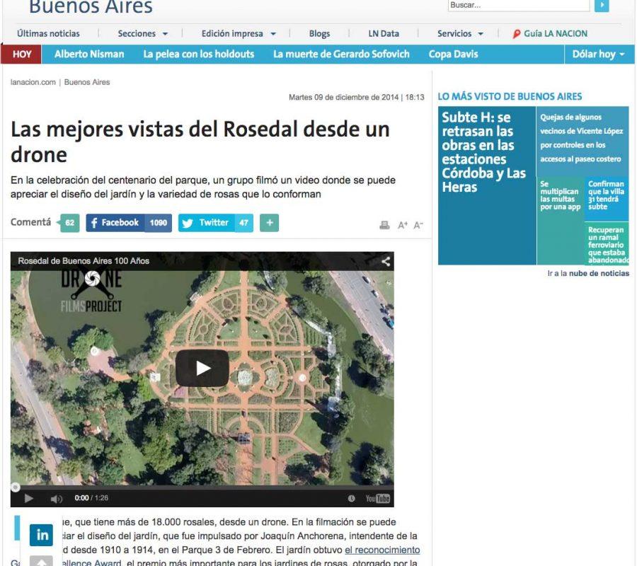 Video Rosedal La Nacion