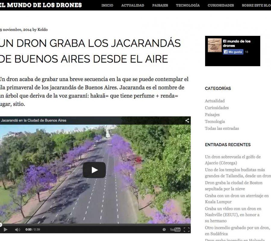 Video Jacarandas Buenos Aires