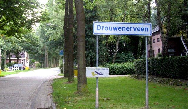 Bezoek van B&W aan Drouwenerveen
