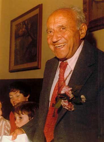 Celebrating Christmas with Dr. Rotondi, 1974