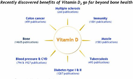 The Evidence Mounts for Vitamin D in Cancer , Heart Disease and Other Conditions.