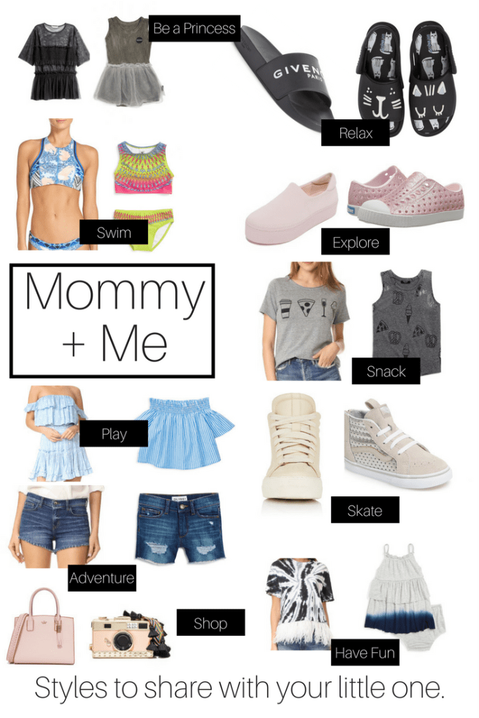 Mommy and Me: Styles to Share with Your Little Ones
