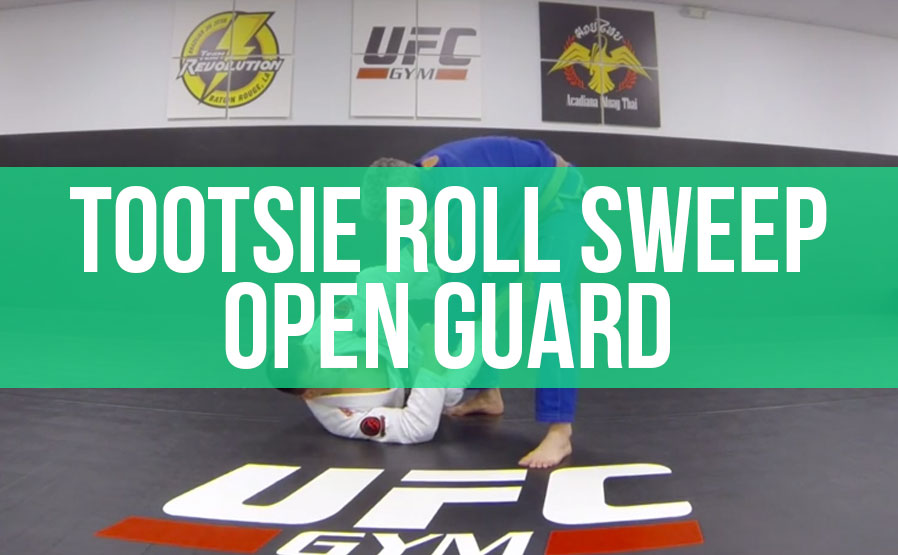 The Tootsie Roll Sweep and defence of the guard with collar and sleeve control