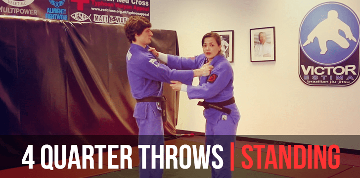 "Judo ""Judo"" Grip 4 quarter throws part 1"