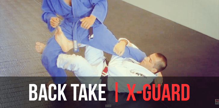 X-Guard to the Back