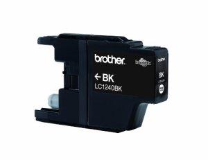 BROTHER LC1240BK Tinte schwarz 600 Seiten fuer MFC-J6510DW J6710DW J6910DW J430W J625DW J825DW DCP-J525W J725DW J925DW J5190DW