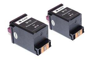 vhbw 2x Druckerpatronen Tintenpatronen Set für Samsung SF-3100T, SF-3100TB, SF-3200, SF-3200T wie Samsung INK-M10, Lexmark 13400HC.