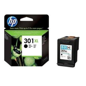 HP 301XL Schwarz Original Druckerpatrone mit hoher Reichweite für HP Deskjet, HP Envy, HP Photosmart