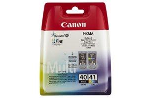 Canon PG-40/CL-41 Tintenpatrone (2-er Pack, 16ml/12ml) schwarz/farbig