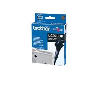 Brother Tintenpatrone LC-970BK/lC970BK Schwarz Inh.350