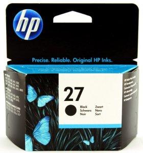 HP 27 Schwarz Original Tintenpatrone
